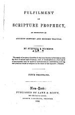 Fulfilment of Scripture Prophecy