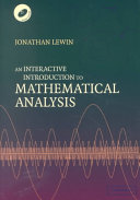An Interactive Introduction to Mathematical Analysis Paperback with CD-ROM