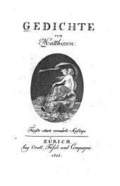 Gedichte von Matthisson