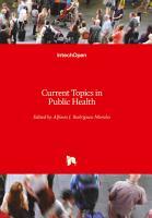 Current Topics in Public Health PDF