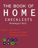 The Book of HOME CHECKLISTS