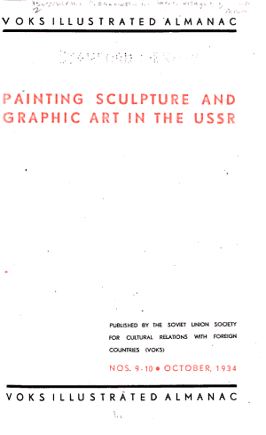 Painting  Sculpture and Graphic Art in the U S S R