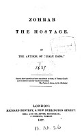 Zohrab the hostage     Second edition  revised and corrected  By James J  Morier PDF