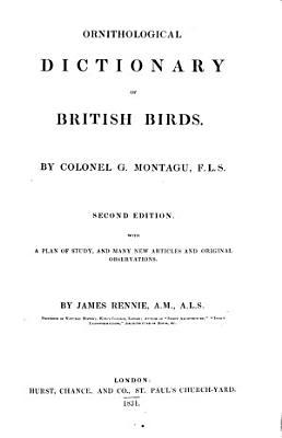 Ornithological Dictionary of British Birds