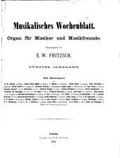 Musikalisches Wochenblatt: Band 5