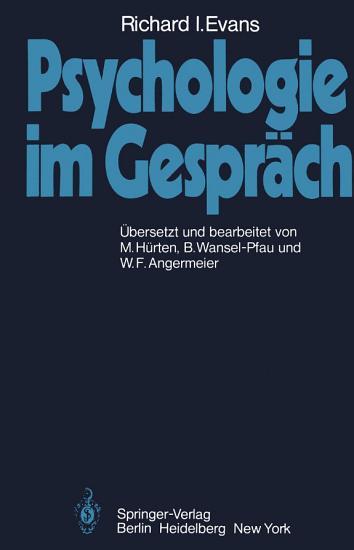 Psychologie im Gespr  ch PDF