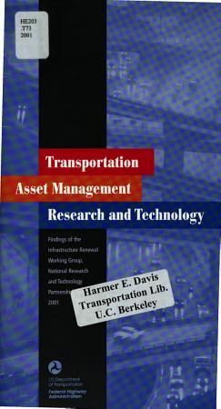 Transportation Asset Management Research and Technology PDF