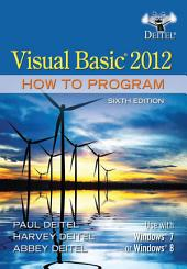 Visual Basic 2012 How to Program: Edition 6