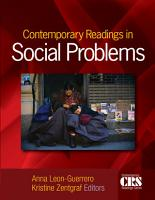 Contemporary Readings in Social Problems PDF