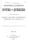 Historic Magazine and Notes and Queries PDF