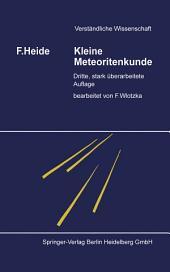 Kleine Meteoritenkunde: Ausgabe 3
