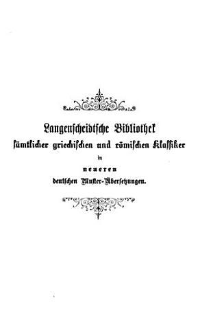 Epiktet s Handb  chlein der stoischen Moral und Das Gem  lde des Cebes von Theben PDF