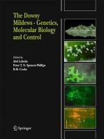 The Downy Mildews   Genetics  Molecular Biology and Control PDF