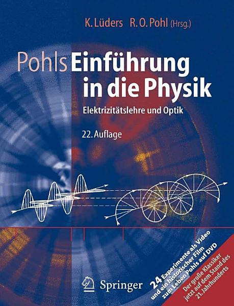 Pohls Einf  hrung in die Physik PDF