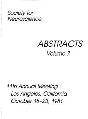 Society for Neuroscience Abstracts PDF