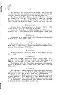 Verzeichnis der bei der redaktion des Archivs f  r naturgeschichte vom august 1904 bis august 1909 eingegangenen schriften     PDF