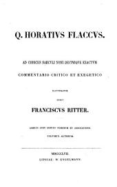 Q. Horativs Flaccvs: Volume 2