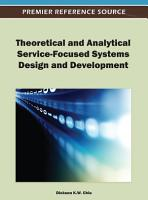 Theoretical and Analytical Service Focused Systems Design and Development PDF
