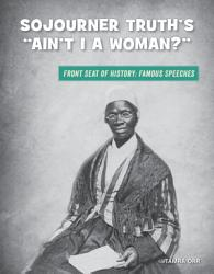 Sojourner Truth S Ain T I A Woman  Book PDF