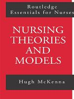 Nursing Theories and Models PDF