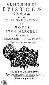 Aristaeneti Epistolae Graecae