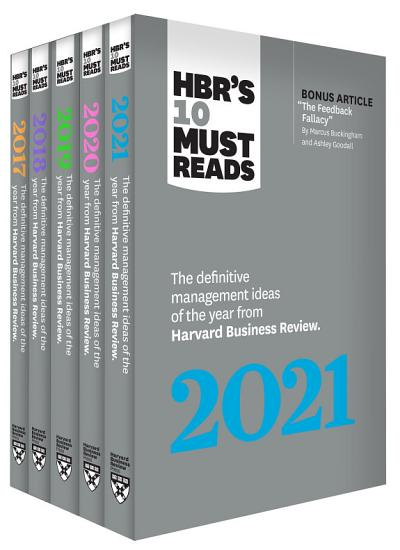 5 Years of Must Reads from HBR  2021 Edition  5 Books  PDF