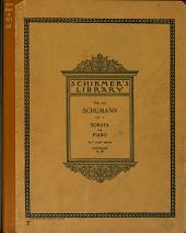 Sonatas for pianoforte: Issue 1