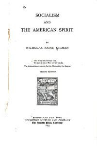 Socialism and the American Spirit PDF