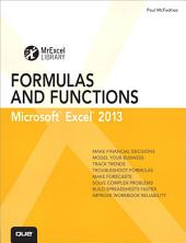 Excel 2013 Formulas and Functions: Microsoft Excel 2010, Portable Documents: Microsoft Excel 2010