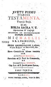 Svetu Pismu Stariga Testamenta: Trętji Dejl, Količina 3