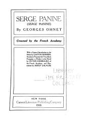 Serge Panine ...