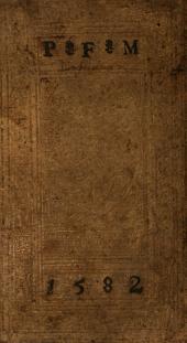 Similitudinvm Ac Parabolarvm Qvae In Bibliis Ex Herbis atq[ue] Arboribus desumuntur dilucida explicatio: In qua narratione singula loca explanantur, quibus Prophetae, obseruata stirpium natura, conciones suas illustrant, diuina[ue] oracula fulciunt