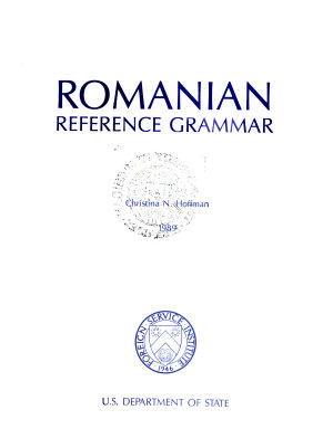 Romanian Reference Grammar PDF