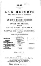 Law Reports: Queen's Bench Division, Volume 2