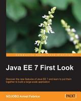 Java EE 7 First Look PDF