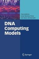 DNA Computing Models