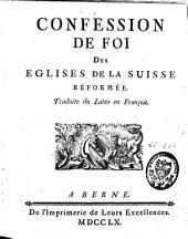 Confession de foi des Eglises de la Suisse réformée