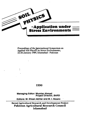 Soil Physics  Application Under Stress Environments PDF