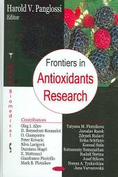 Frontiers in Antioxidants Research
