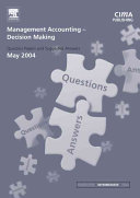 Management Accounting   Decision Making PDF