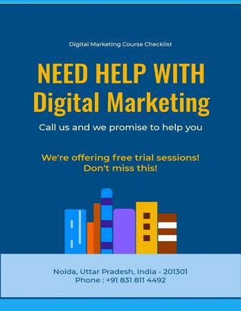 The Complete Digital Marketing Course Checklist PDF