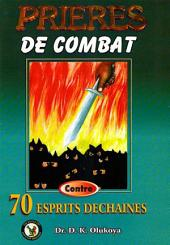 Prieres de Combat Contro 70 Espirits Dechaines