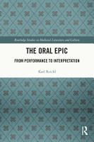 The Oral Epic PDF