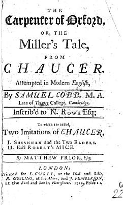 The Carpenter of Oxford