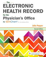 The Electronic Health Record for the Physician s Office PDF