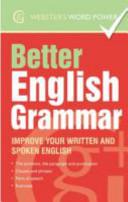Better English Grammar