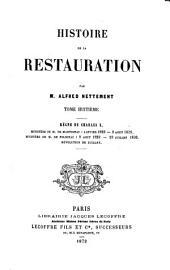 Histoire de la Restauration: VIII