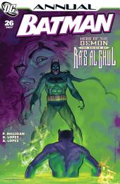 Batman (1940-2011) Annual #26