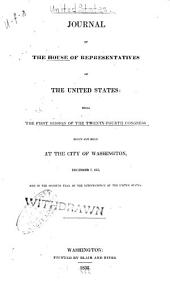 Journal of the Senate of the United States of America: Volume 24, Issue 1
