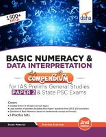 Basic Numeracy   Data Interpretation Compendium for IAS Prelims General Studies Paper 2   State PSC Exams 2nd Edition PDF